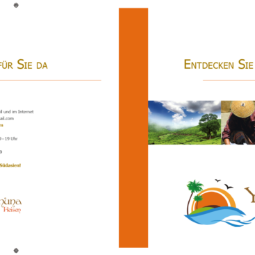 Broschüre Yamuna Reisen