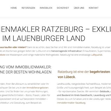 Websitetext Wortezauber für Lauenburger Landimmobilien