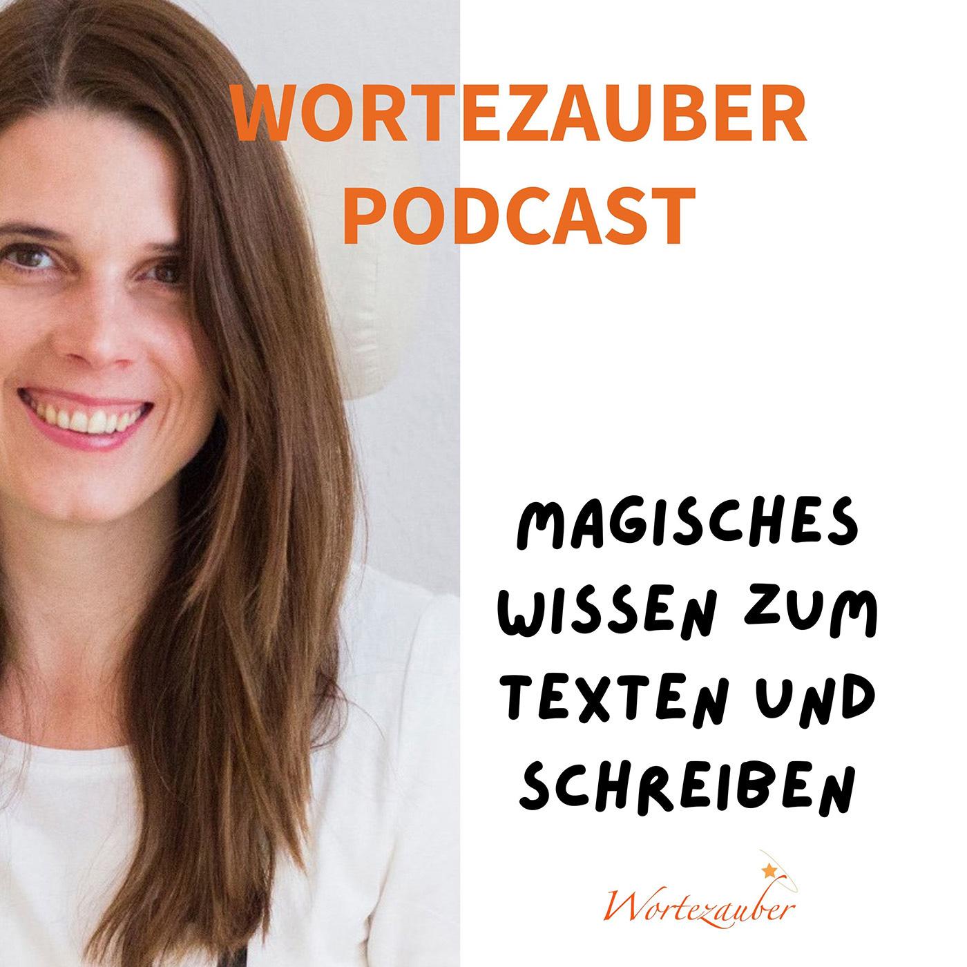 Wortezauber Podcast Cover mit Rohita Bruckmann